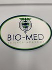 BIO-MED OVAL EURO AUTO DECAL