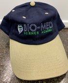 BIO-MED BALL CAP- NAVY/BEIGE